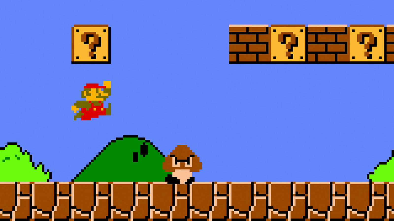 Blindfolded Speed Runner Beats Super Mario Bros In Under 15 Minutes super mario bros.0