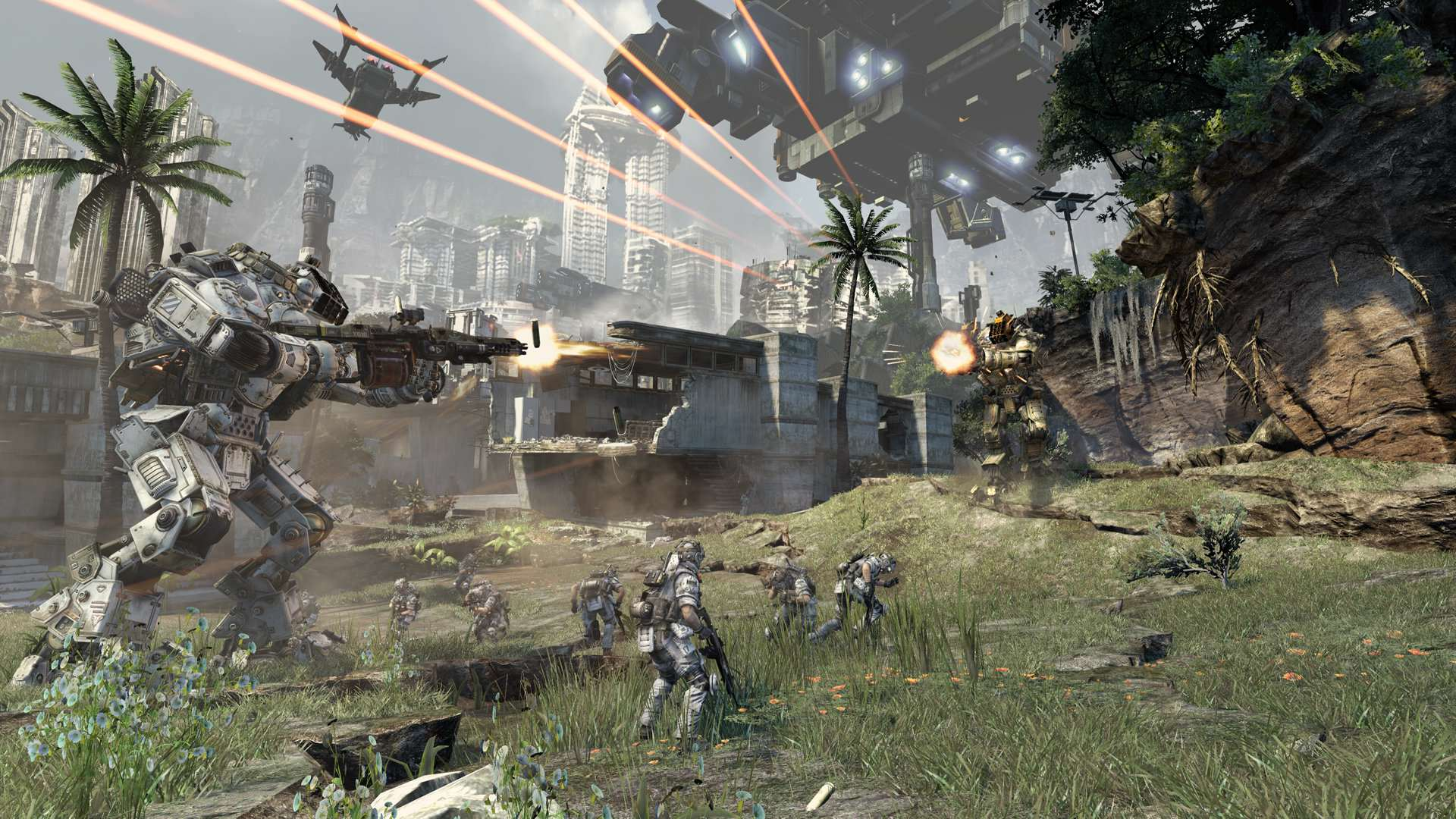 Titanfall 2 Single Player Campaign Confirmed, TV Spinoff In The Works titanfall4