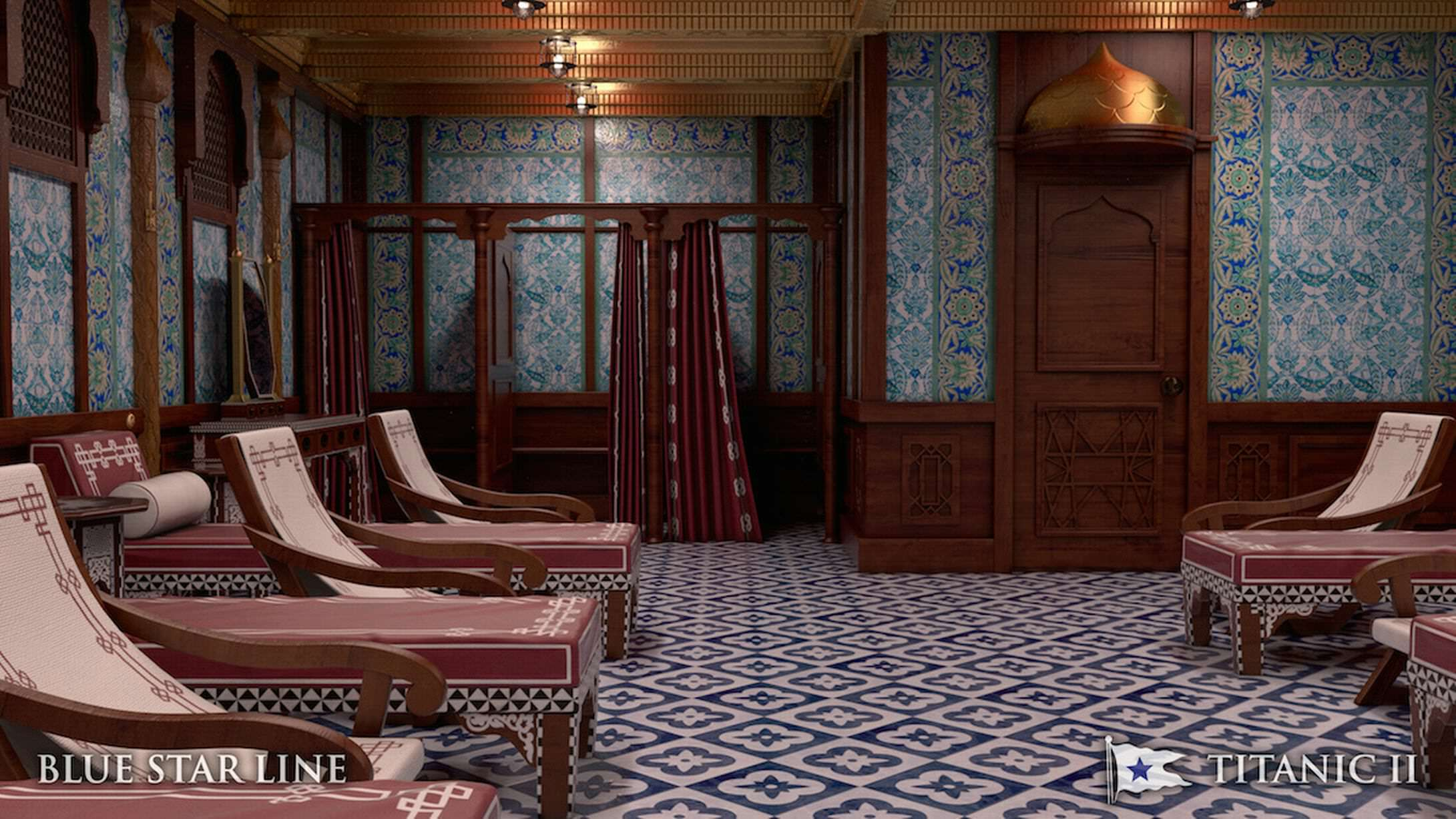 Incredible New Photos Give First Look Inside Titanic 2 titanic new 1