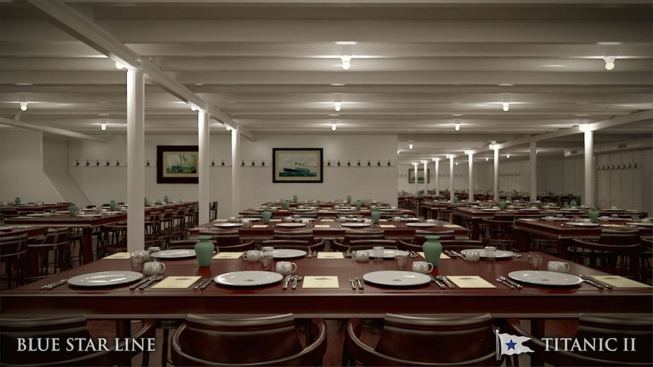 Incredible New Photos Give First Look Inside Titanic 2 titanic new 2