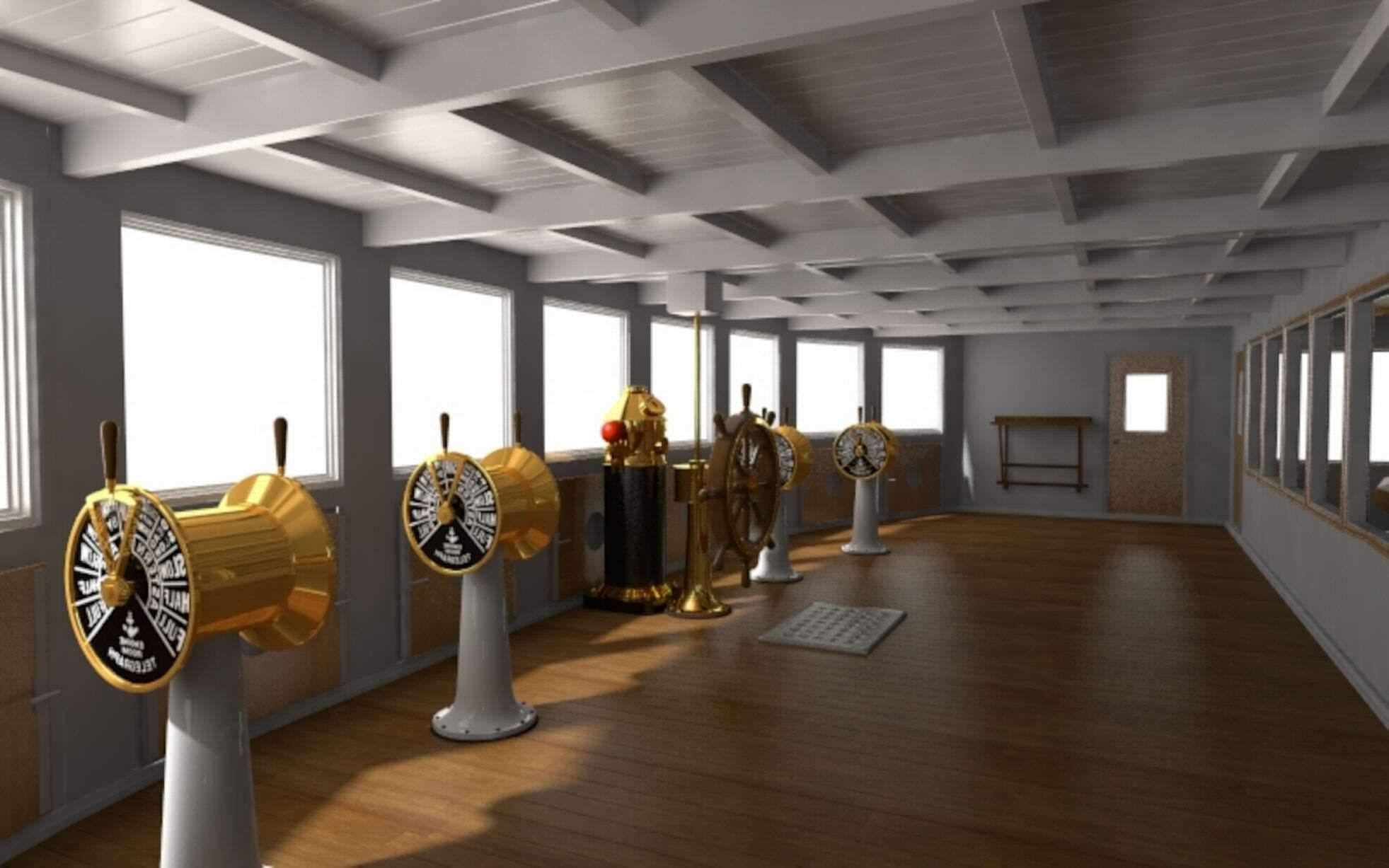 Incredible New Photos Give First Look Inside Titanic 2 titanic new 4
