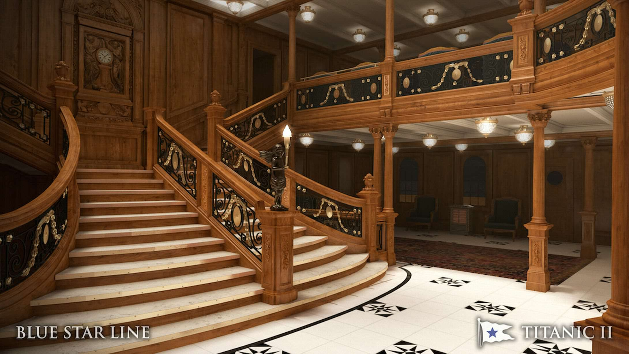 Incredible New Photos Give First Look Inside Titanic 2 titanic new 9