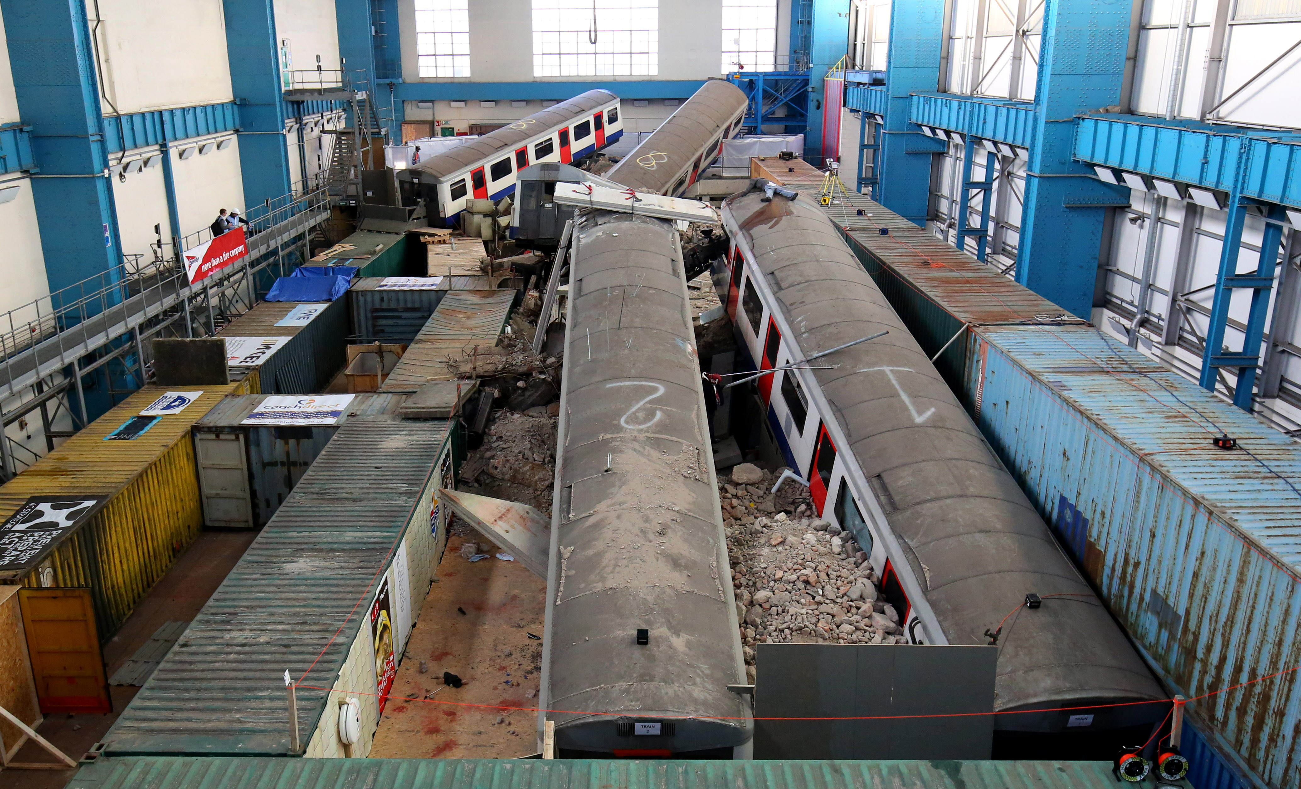 Europes Biggest Ever Disaster Simulation Is Truly Terrifying train