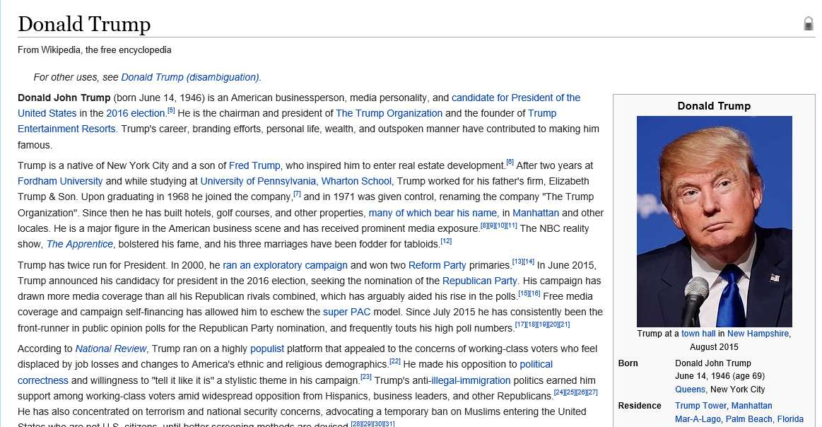 Donald Trump Is Already Losing Election Race And The Internet Loves It trump wiki