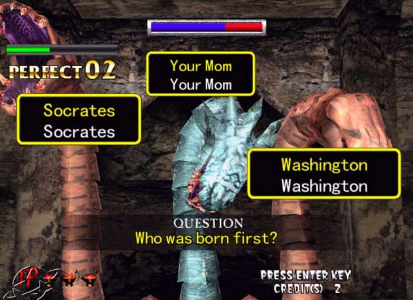 Ten Of The Greatest Zombie Games Ever Made typing of the dead 2