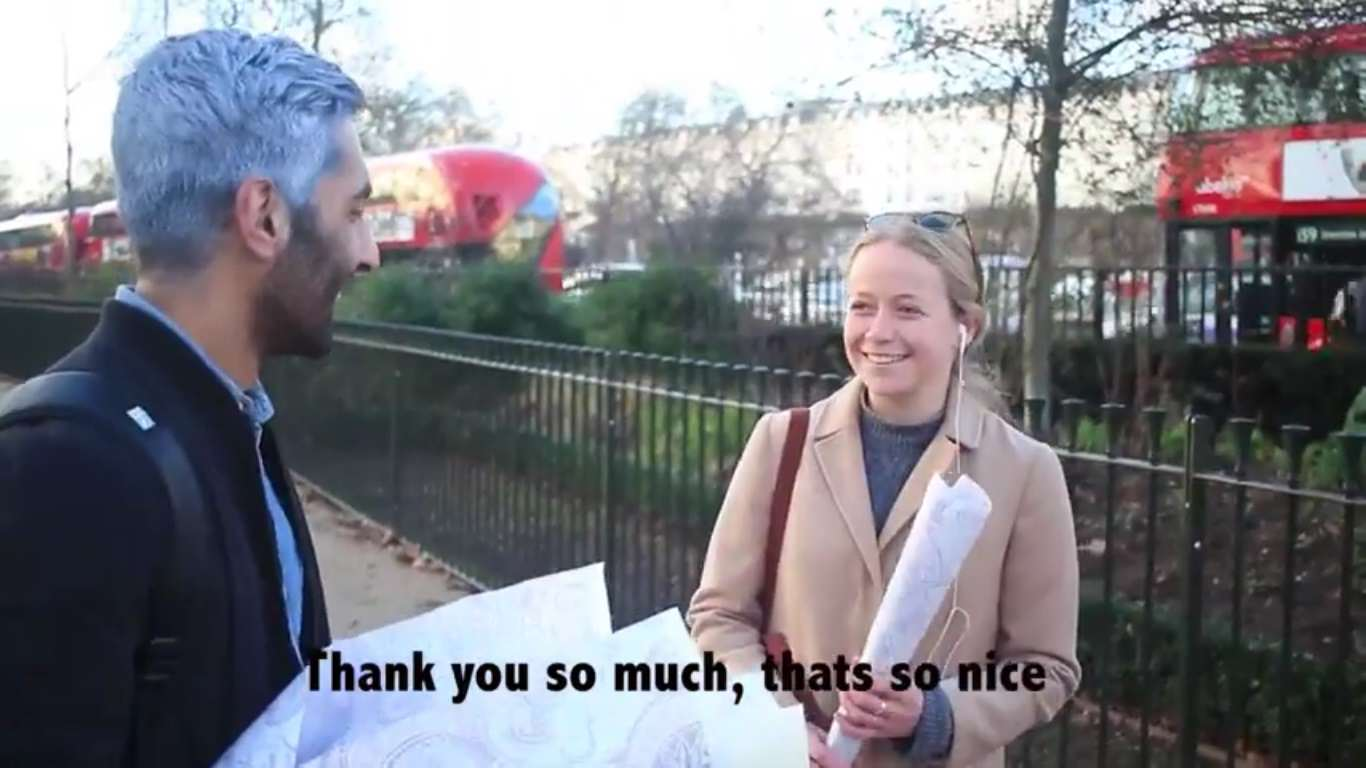 This Guys Romantic Gesture Brightened Up Strangers Valentines Days v day roses 2
