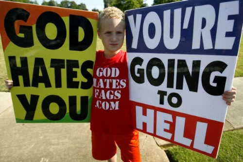 Living According To The Bible, Part 2: No Sex And No False Idols westboro baptist church