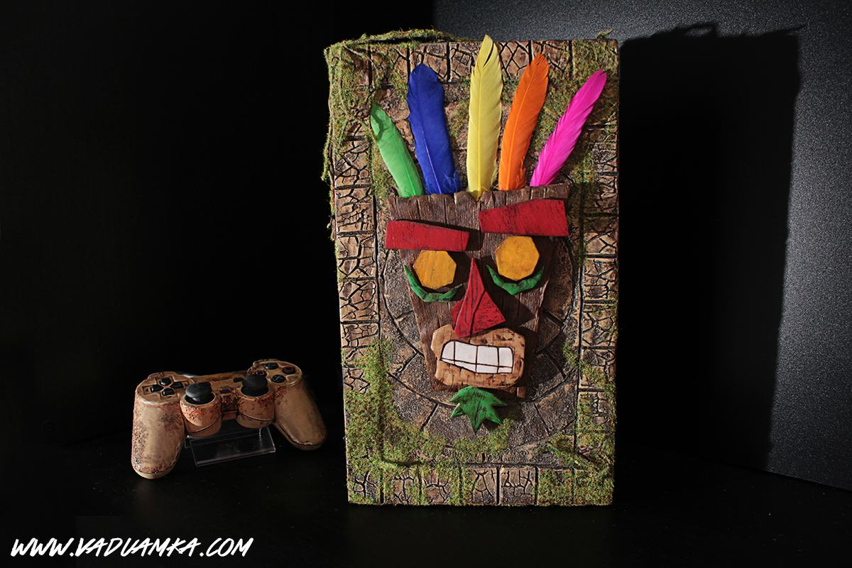 This Customised Crash Bandicoot PS2 Is A Thing Of Beauty 109456441 o