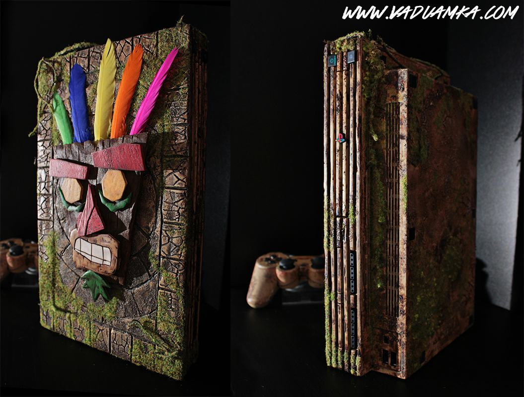 This Customised Crash Bandicoot PS2 Is A Thing Of Beauty 109456443 o