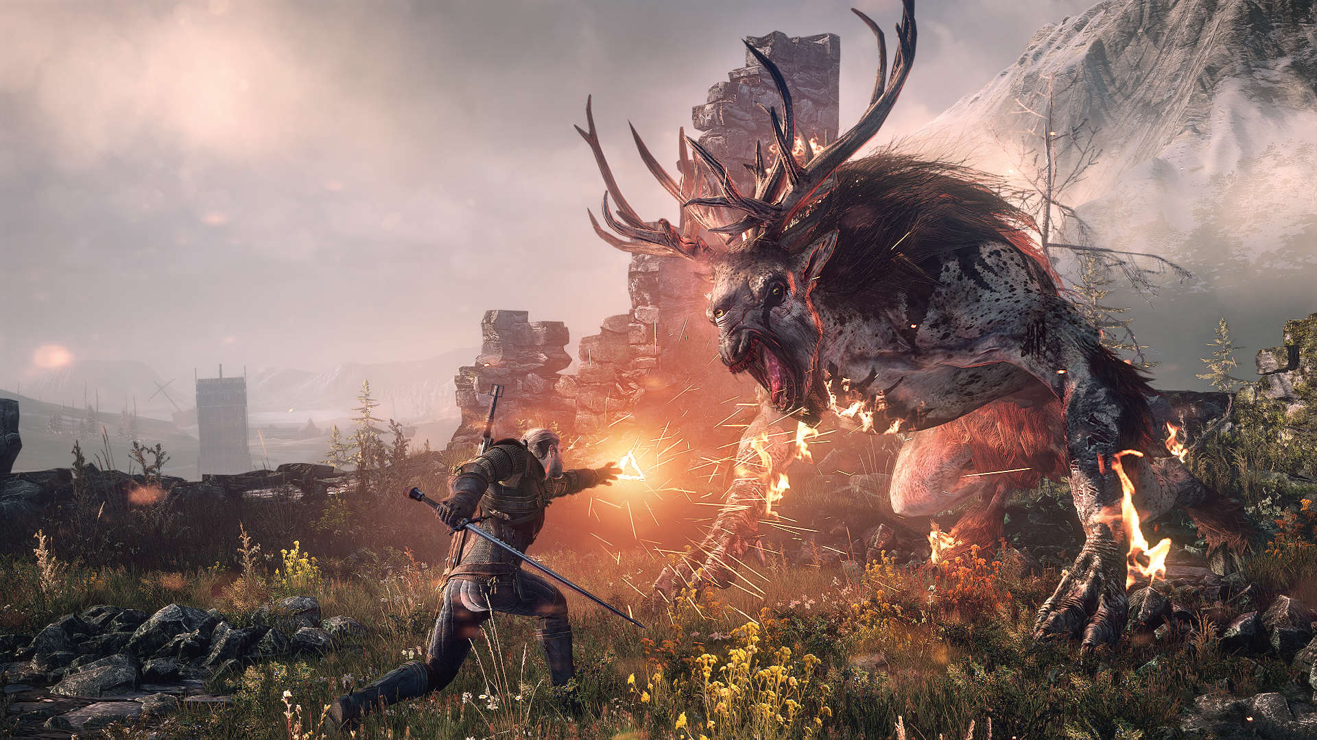 Heres All The Winners And Losers From The GDC Awards 2016 2457637 the witcher 3 wild hunt geralt vs fiend