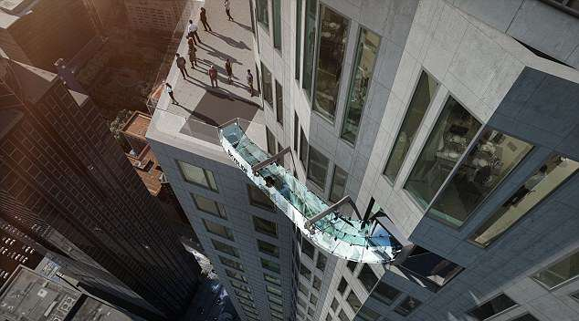 This Skyslide Installed On A Skyscraper 1,000 Feet Up Looks F*cking Terrifying 3265007C00000578 3501443 image a 36 1458488541685