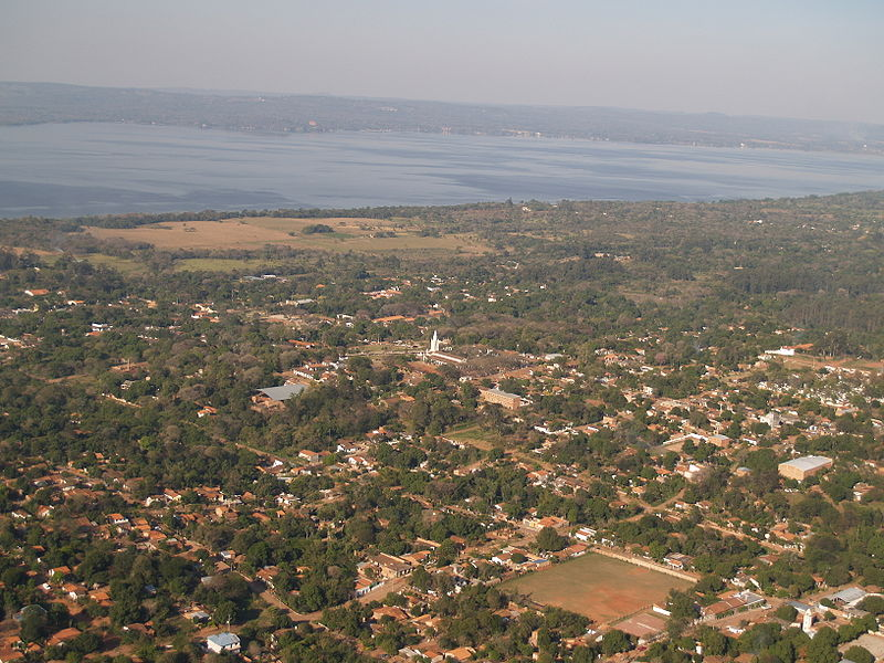Rumours That Maddie McCann Was Spotted In Paraguay Triggered Major Search 800px Areguá Vista aérea
