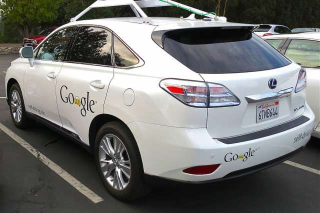 Heres How Much The Apple Car May Cost 954px Googles Lexus RX 450h Self Driving Car 640x426