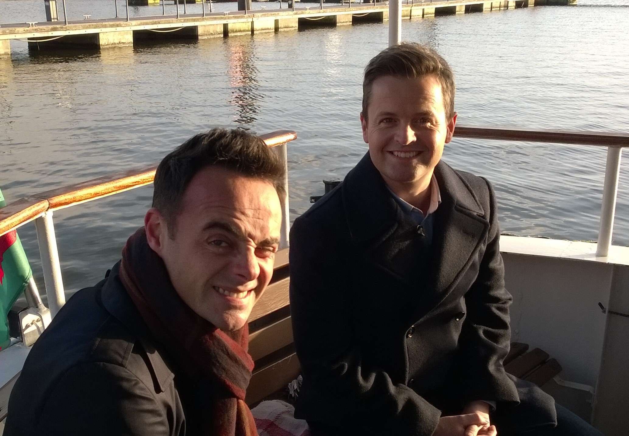 Ant And Decs Saturday Night Takeaway Gets A Lot Of Random Complaints Ant and Dec in Cardiff Bay