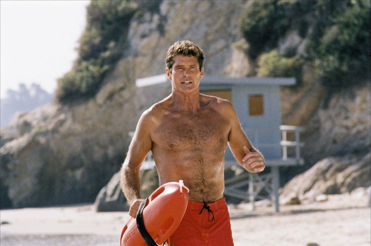 David Hasselhoffs Been Training With The Rock, And Its Paying Off Baywatch The Hoff
