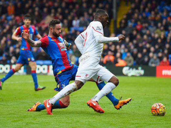 Benteke penalty incident independent