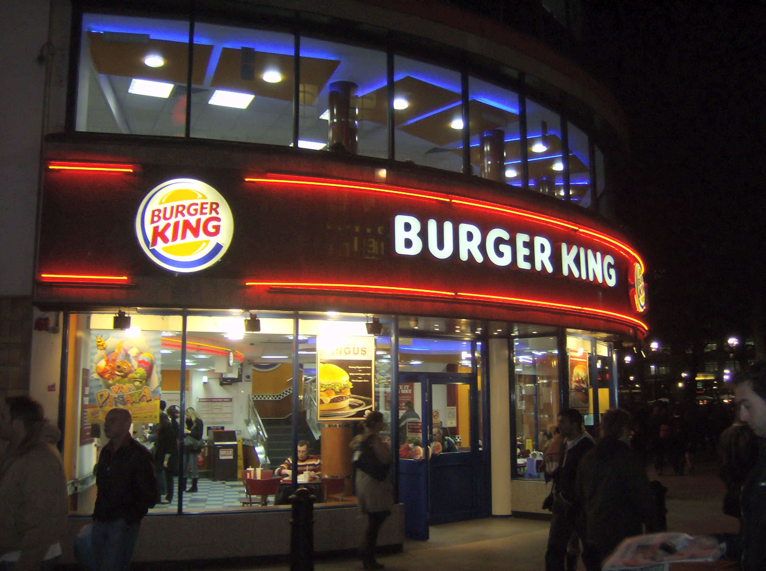 Burger King Given Permission To Start Selling Booze With Its Burgers Burger King in London