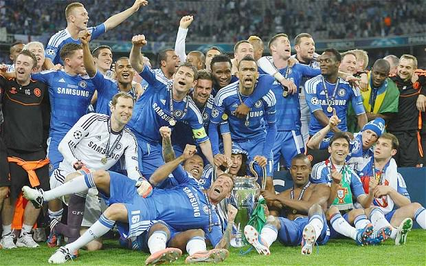 Chelsea UCL win telegraph