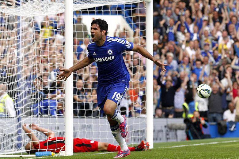 Five Reasons Chelsea Can Claim A Champions League Place Costa goal