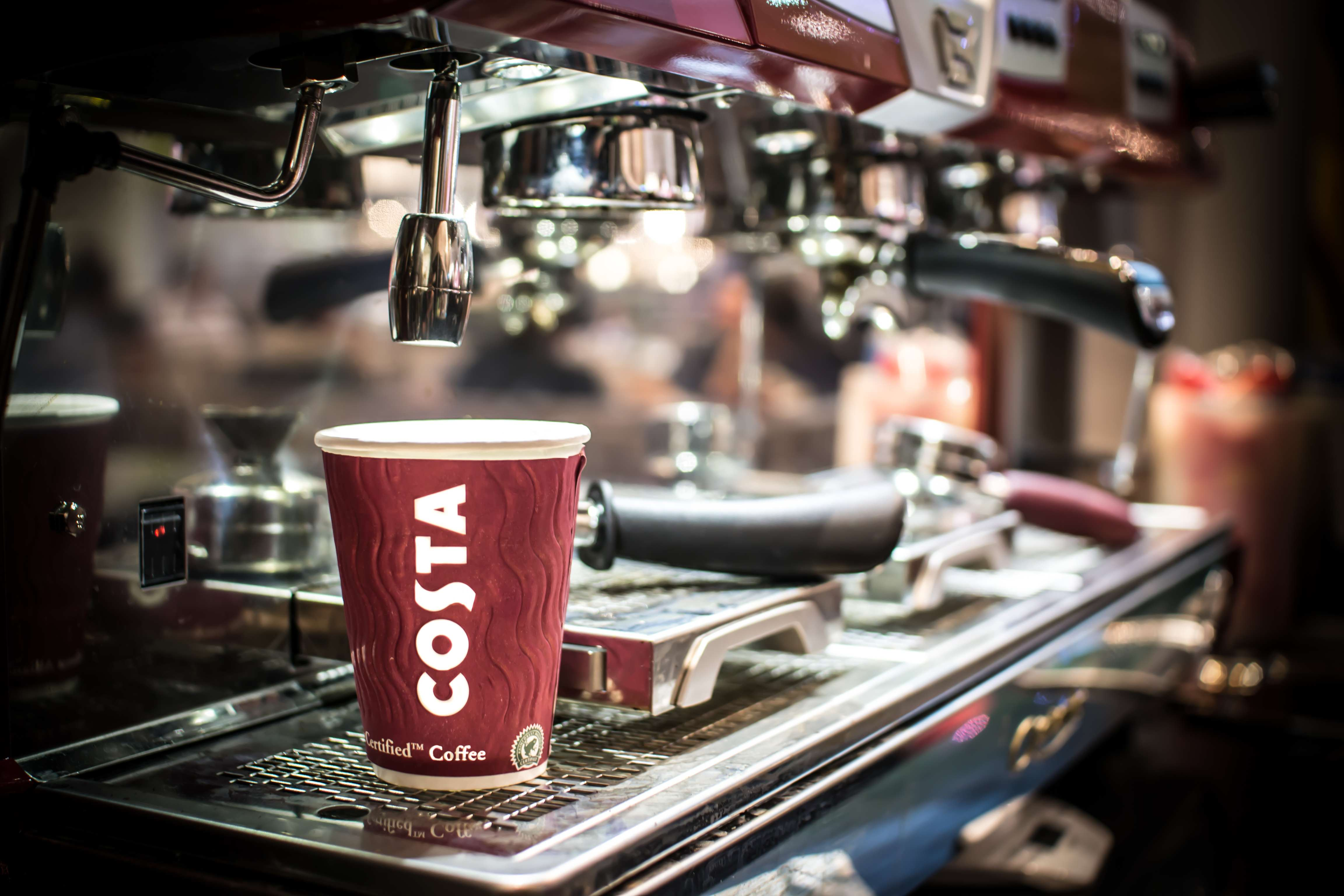There Might Be Bad News For People Who Like Their Coffee On The Go Costa   ekspres do kawy