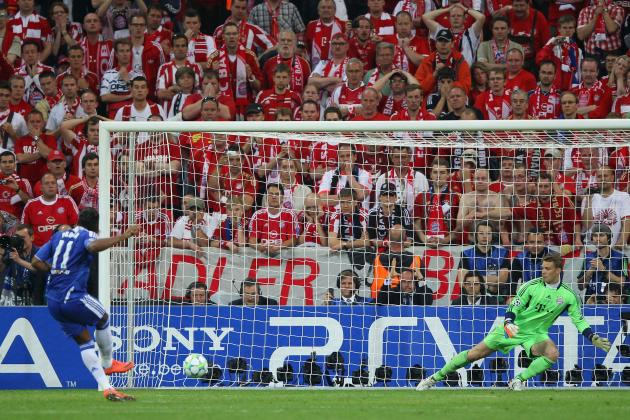 Drogba UCL penalty