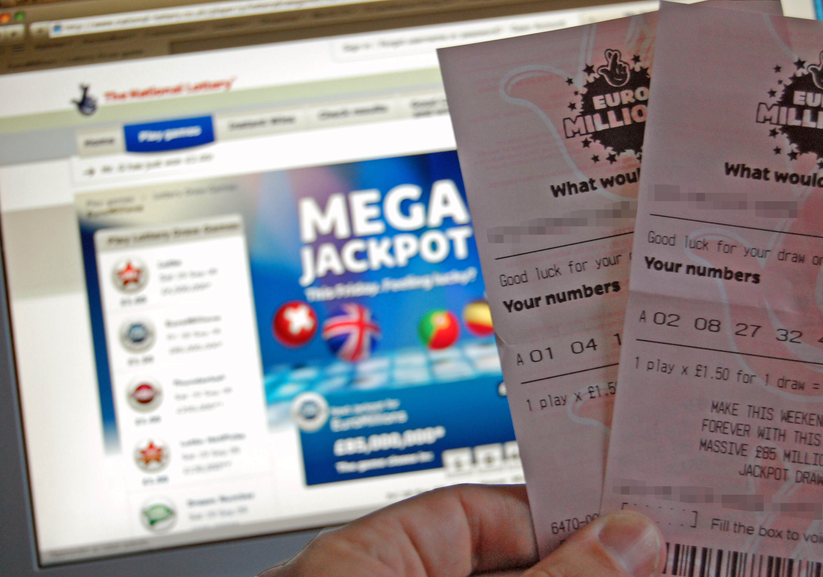 Woman F*cks Up By Not Double Checking Winning Lottery Ticket EuroMillions tickets
