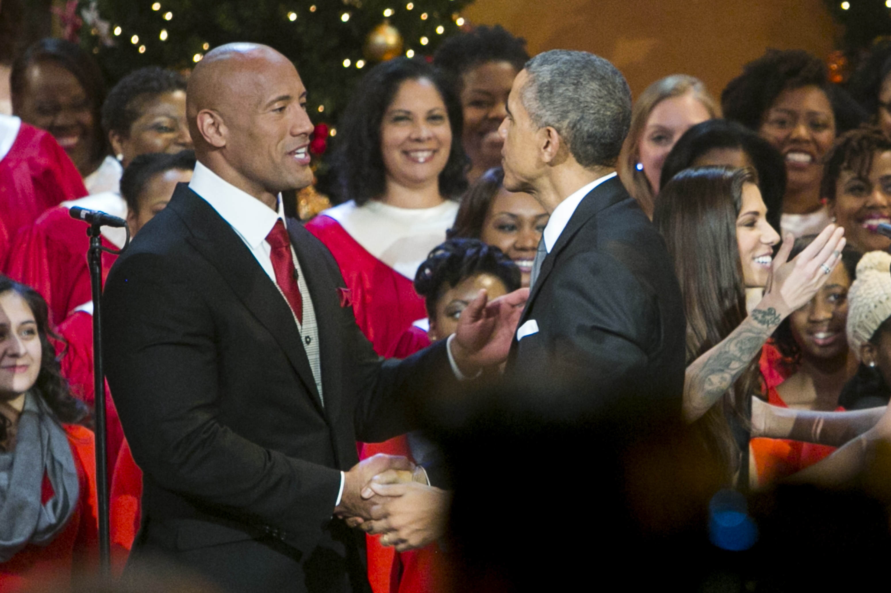 The Rock Considers Running For President, World Rejoices GettyImages 460472958