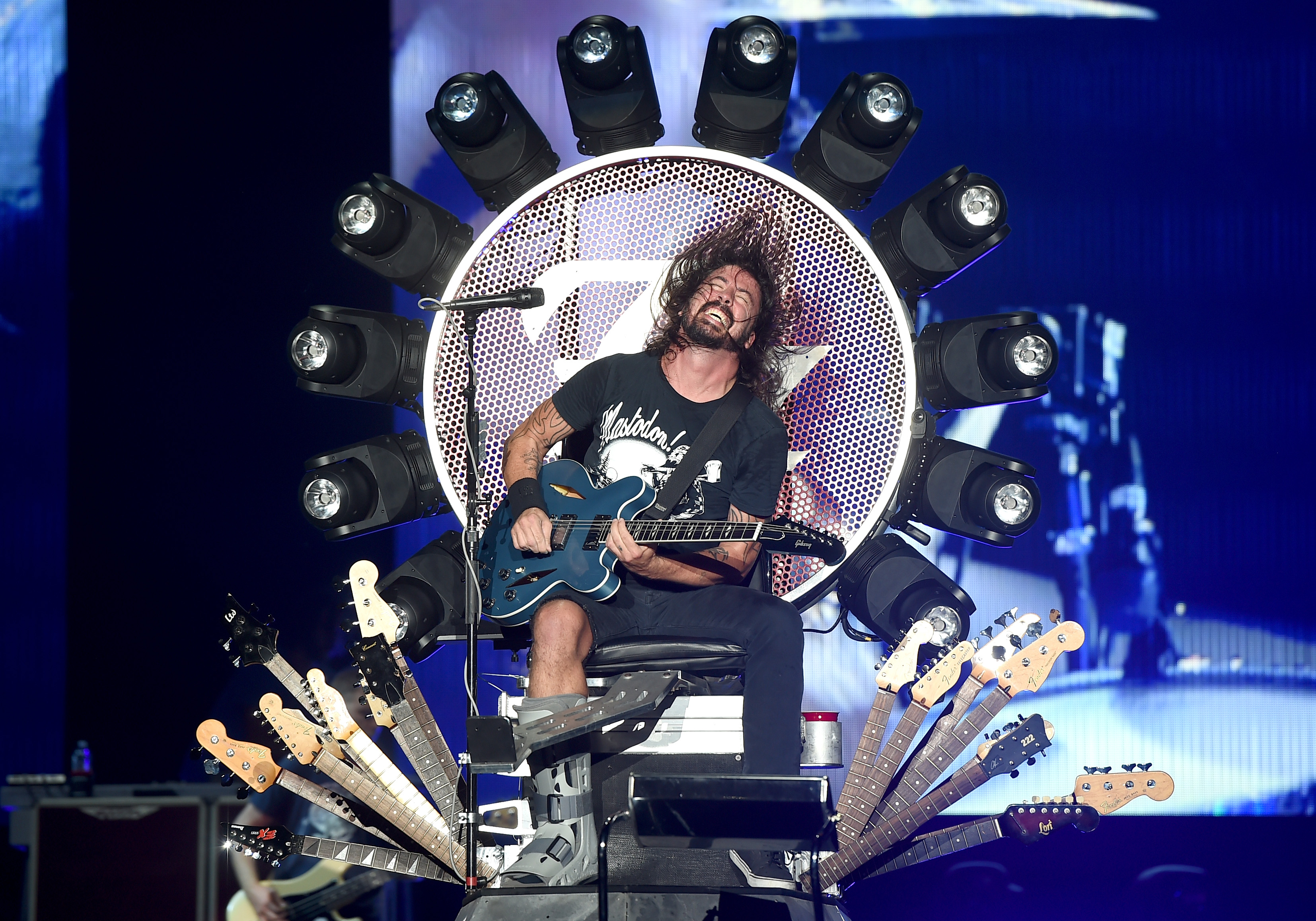 Foo Fighters Biography, 2018 Tour, Members, Songs, Name Meaning and Net Worth GettyImages 489511684