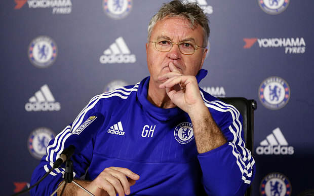 Five Reasons Chelsea Can Claim A Champions League Place Hiddink Telegrapg