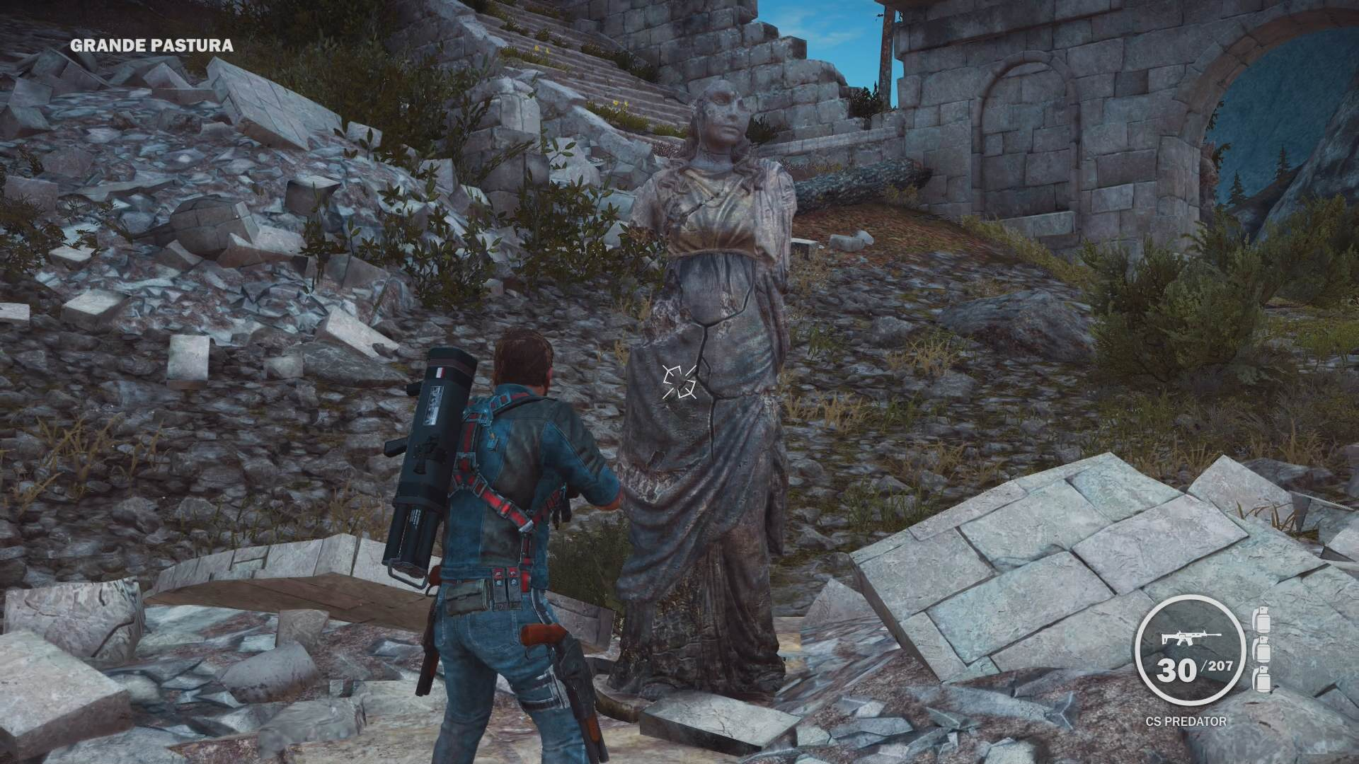 Eleven Great Videogame Easter Eggs From 2014/15 Just Cause 3 Dr. Who Weeping Angels Easter Egg