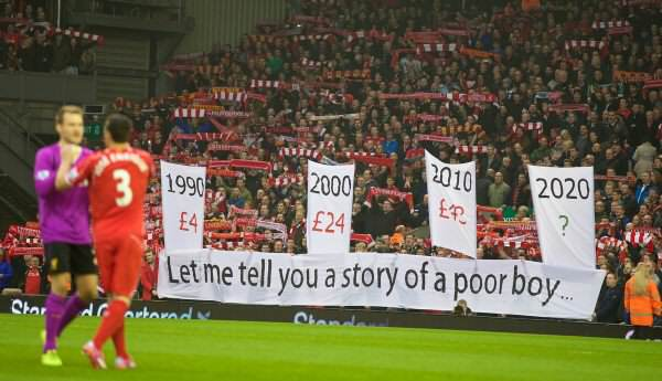 LFC away protest