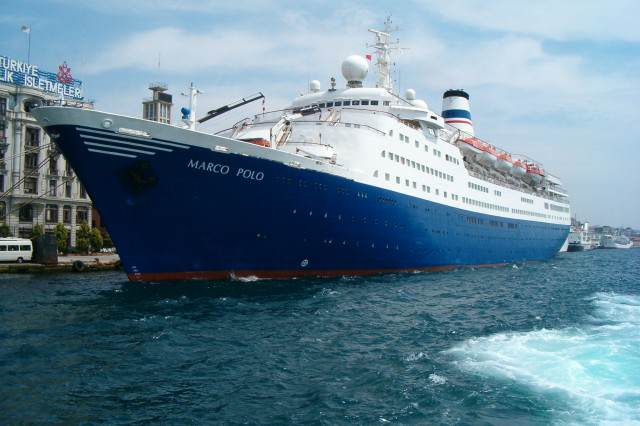 British OAP Rescued From Atlantic After Trying To Swim To Cruise Ship MS Marco Polo 640x426