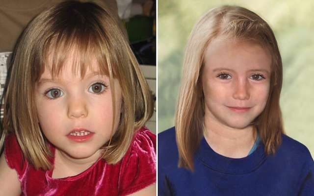 Rumours That Maddie McCann Was Spotted In Paraguay Triggered Major Search Madeleine McCann aged three and age progressed nine