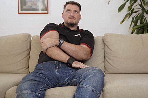 Man Reveals All About Living With A 10lb Penis Man with the half stone penis 1 1