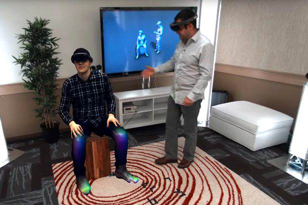 Microsoft Has Made Star Wars Style Holographic Messages A Reality Microsoft demonstrate Holoportation with HoloLens technology