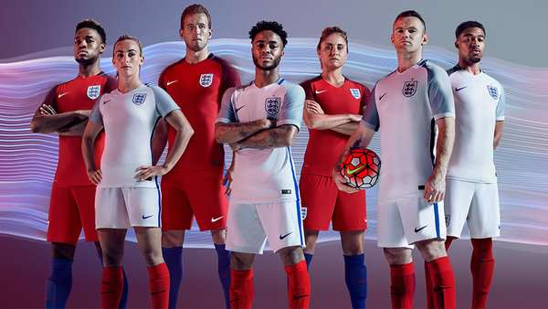 UNILAD Footballs Alternative England Team New england kit 1