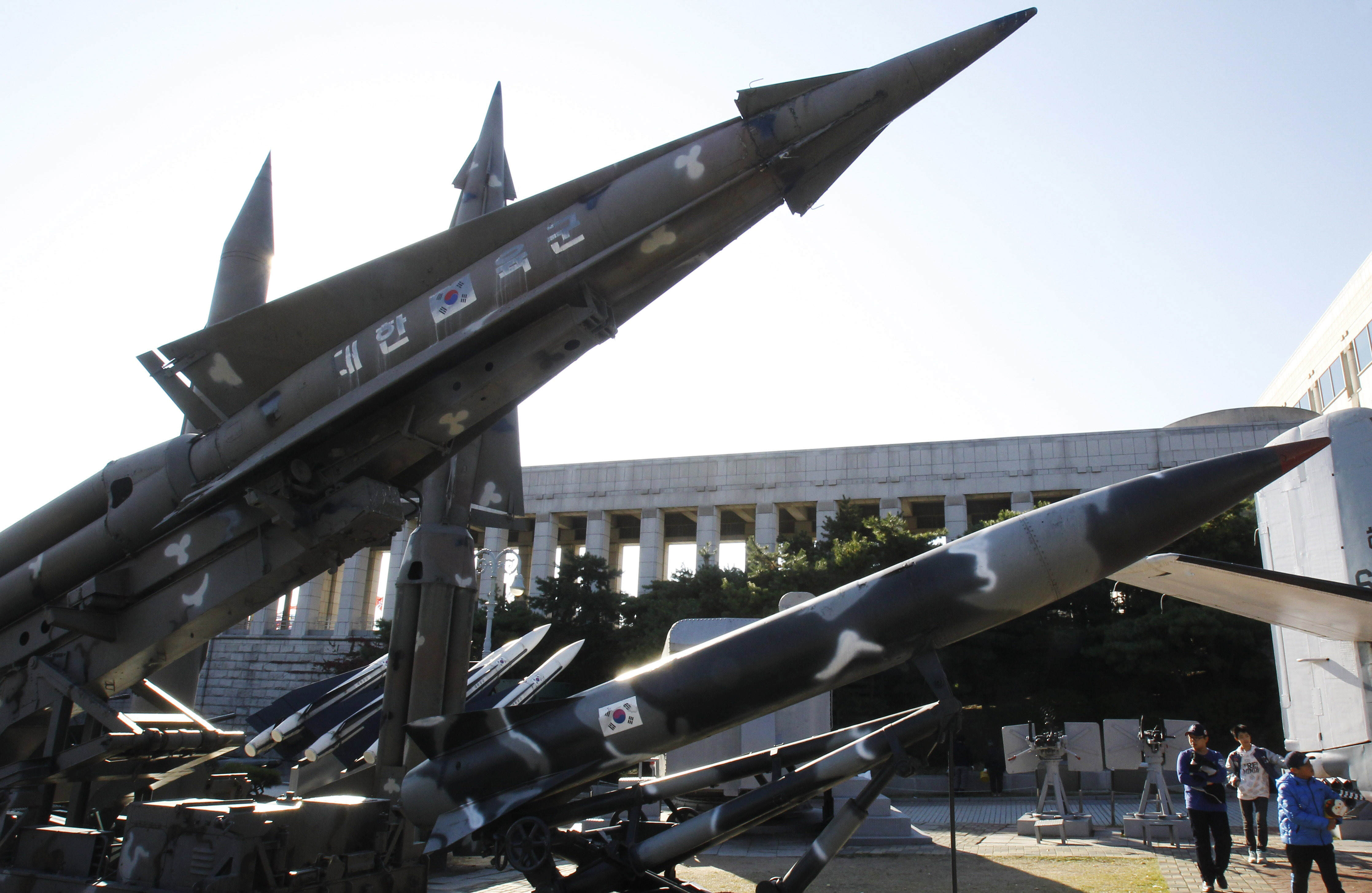 North Korea Launches Another Missile Strike, Threatens To Bury Enemies At Sea PA 11924764