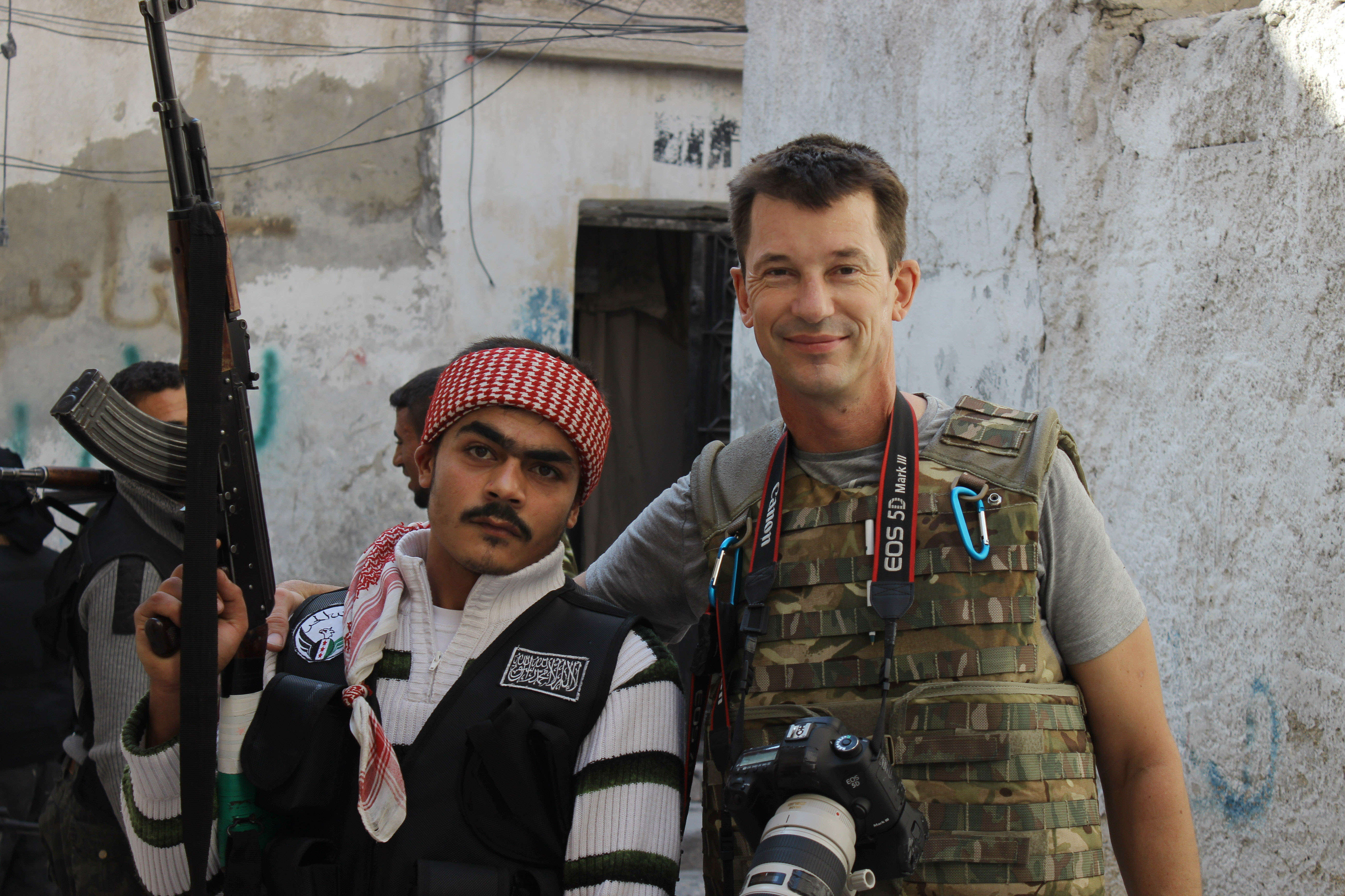 British Hostage John Cantlie Appears In New ISIS Propaganda Video PA 22138028