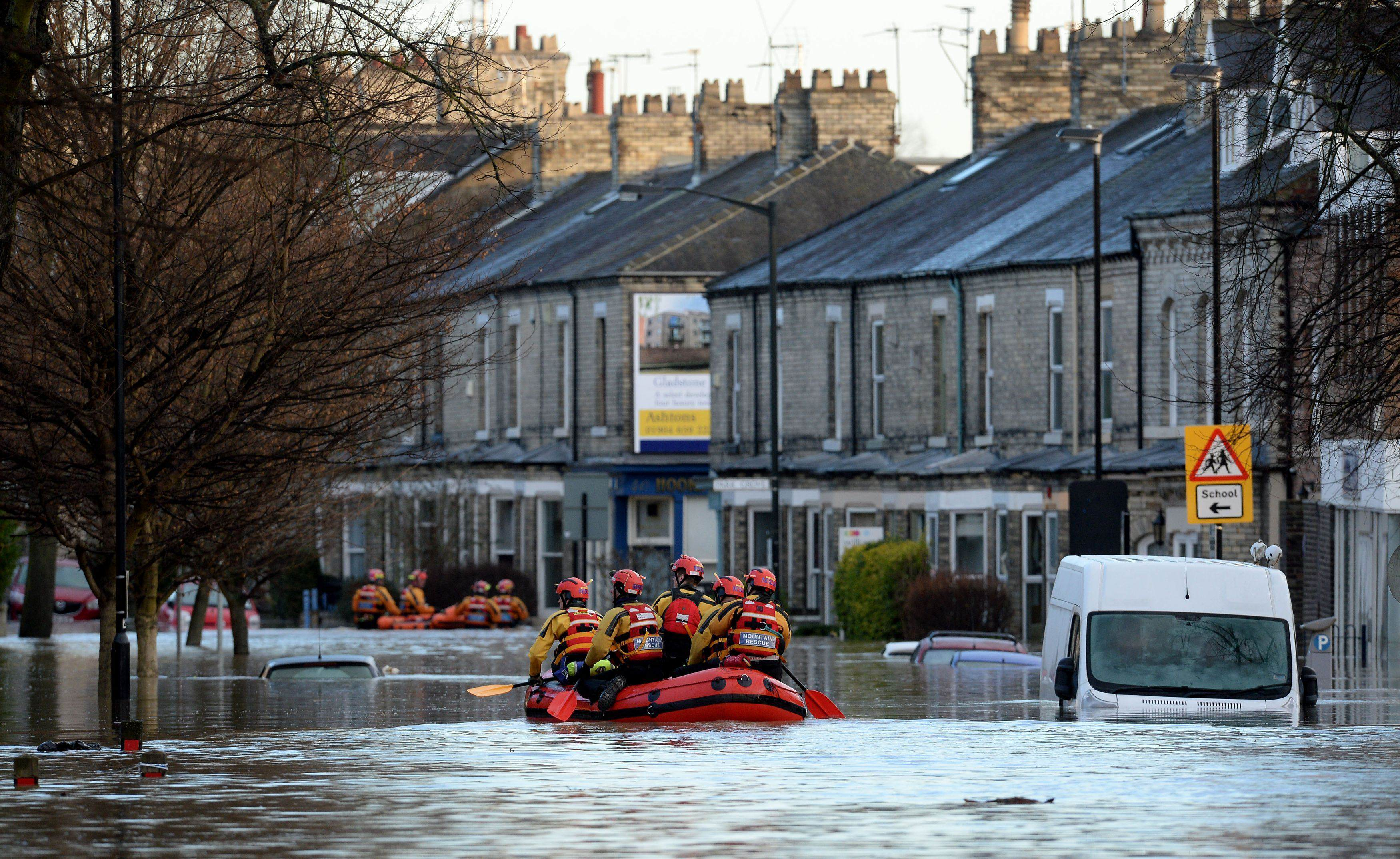 Flood defence spending figures