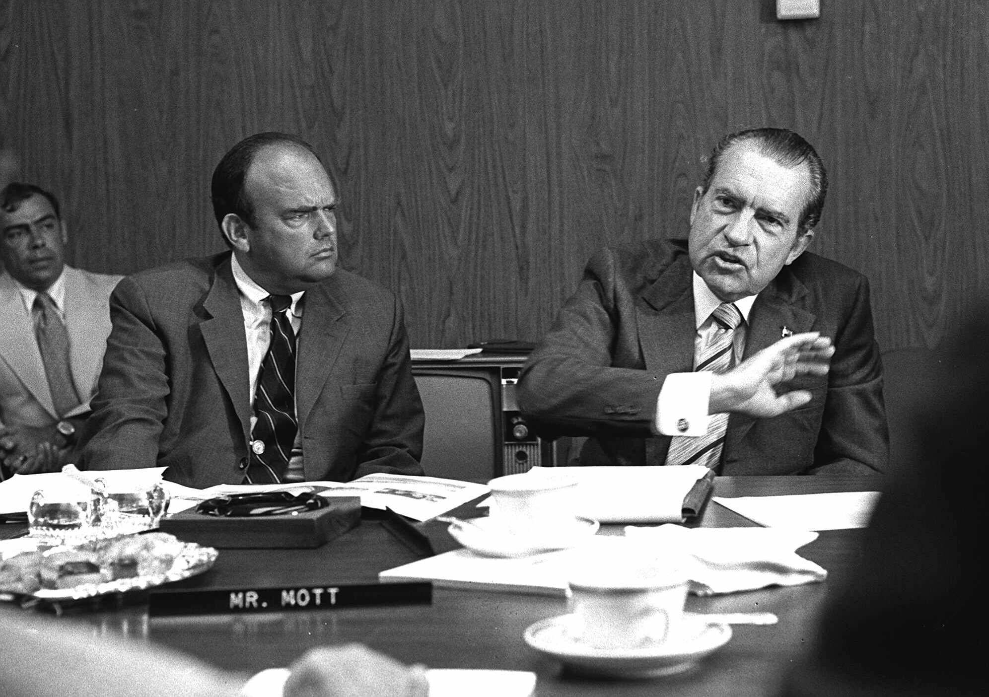 President Richard Nixon and John D. Ehrlichman