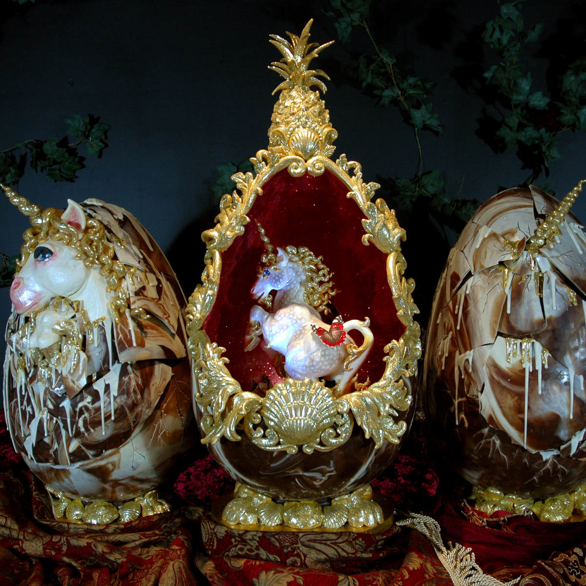 The Worlds Most Expensive Easter Eggs Are Absolutely Ridiculous SWNS FABERGE EASTER 07 1