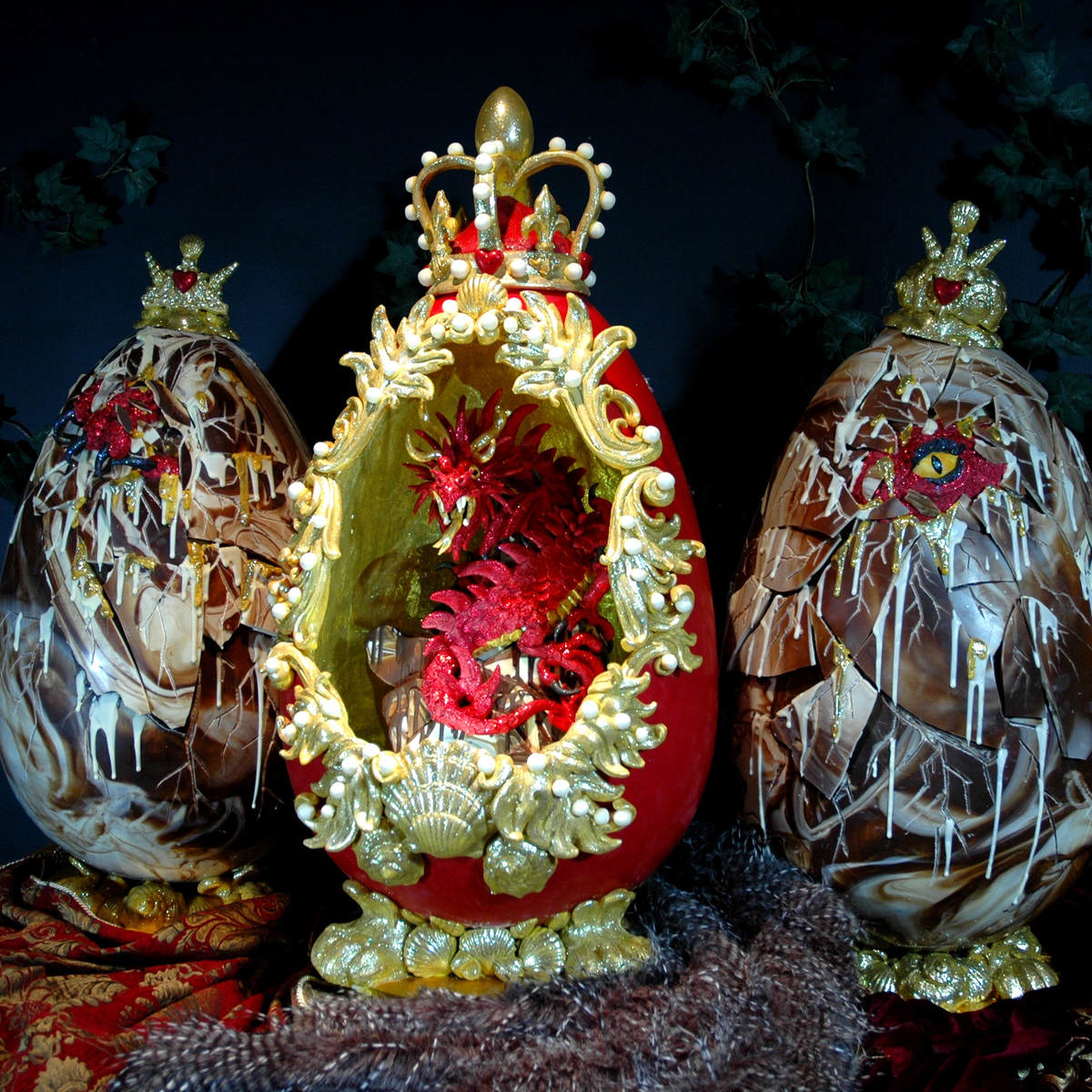 The Worlds Most Expensive Easter Eggs Are Absolutely Ridiculous SWNS FABERGE EASTER 10