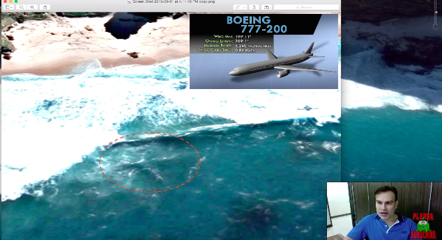 U.S. Military Vet Claims Hes Found Missing MH370 Plane Screen Shot 2016 03 04 at 10.28.32