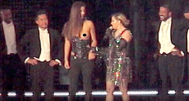 Madonna Exposed Fans Breast On Stage And Social Media Had A Meltdown Screen Shot 2016 03 18 at 10.28.54 copy