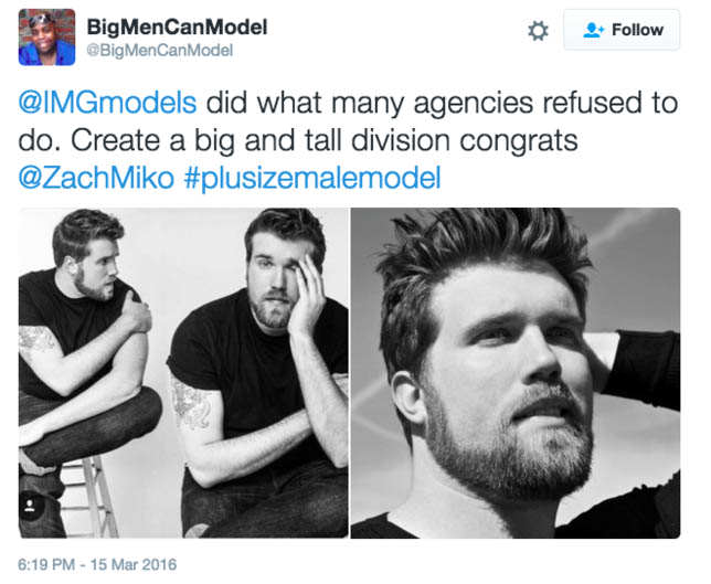 Meet The Plus Sized Male Model Making Waves In The Fashion Industry Screen Shot 2016 03 18 at 16.46.19