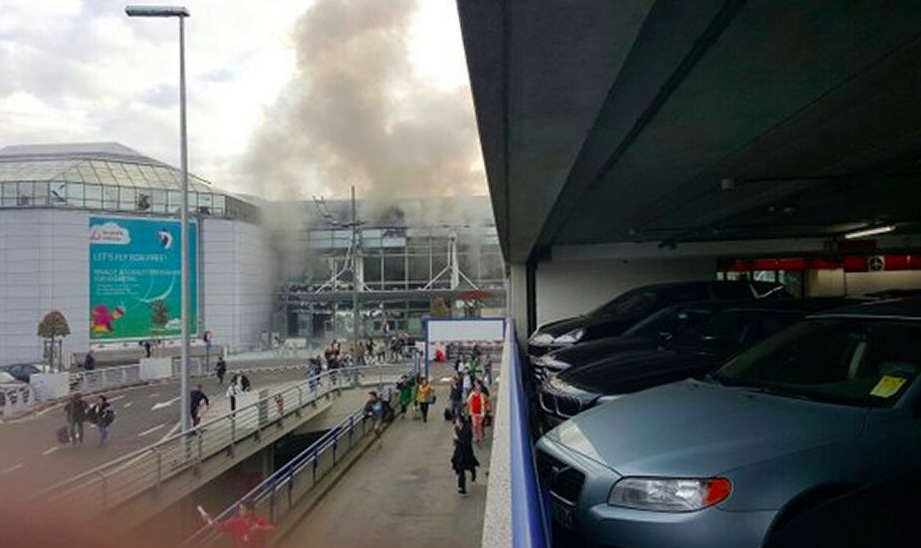 BREAKING: Blasts Reported At Brussels Metro Station Following Airport Bombing Screen Shot 2016 03 22 at 07.46.42