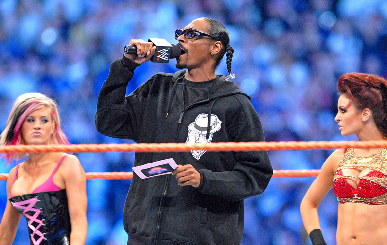Snoop Dogg Set For Surprise Honour From The WWE Screen Shot 2016 03 28 at 20.42.49