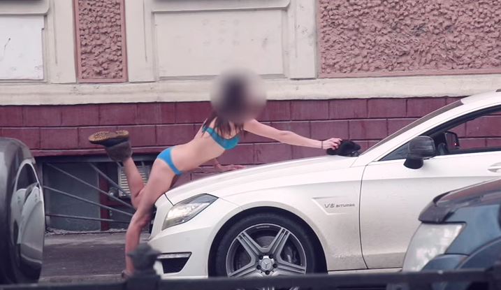 Russian Oligarchs Son Tricks Girls Into Stripping And Cleaning His Car For Cash Screen Shot 2016 03 30 at 16.27.08
