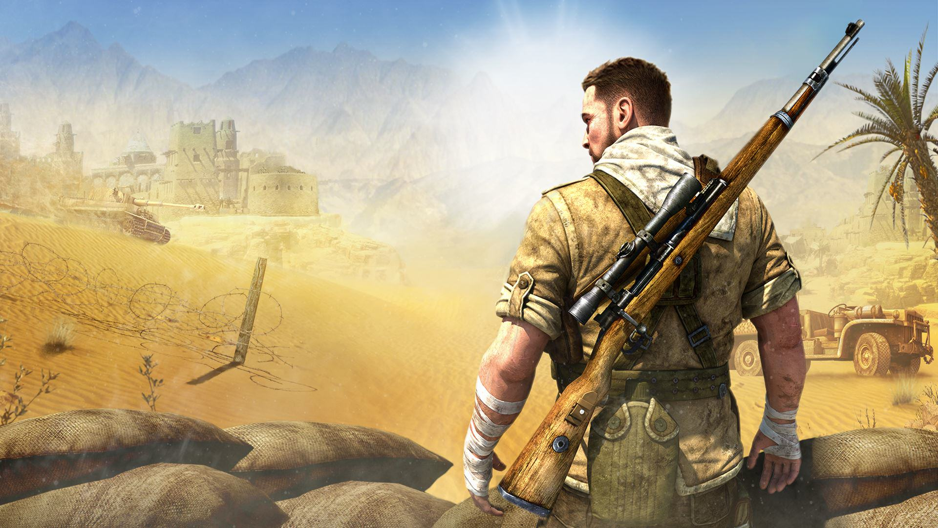Sniper Elite 4 Officially Announced, Looks Awesome In New Trailer Sniper Elite wallpaper