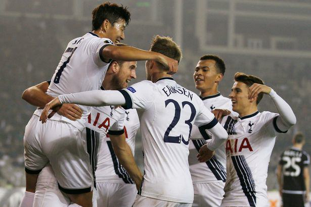Spurs v BVB Is The Tie Of The Week, And Heres Why Spurs celebration europa mirror